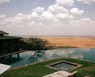 Main Pool, Singita Grumeti Sasakwa Lodge, Tanzania