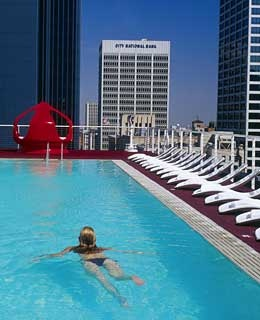 Rooftop Pool, The Standard Downtown, Los Angeles
