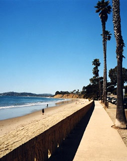 Butterfly Beach - Santa Barbara, California