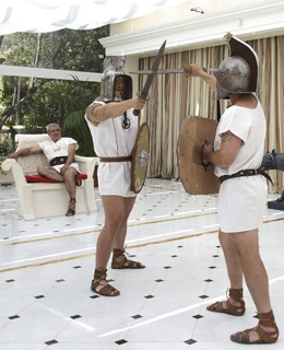 Gladiator Training Rome Cavalieri, The Waldorf Astoria Collection