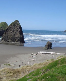 Meyers Creek Beach - Gold Beach, Oregon
