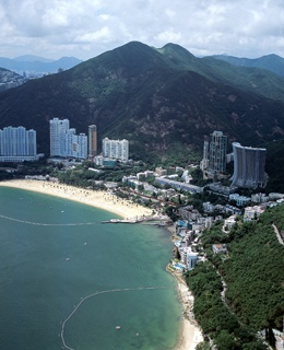 Repulse Bay Beach Hong Kong, China