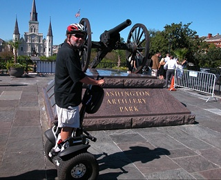 Louisiana On a Segway