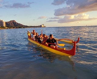 Outrigger Canoeing in Hawaii