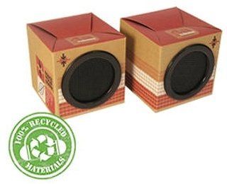 Portable Eco-Friendly Speakers