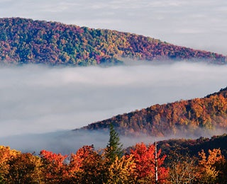 New England Autumn Foliage Flights, Maine