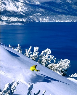 Heavenly Mountain ski Resort in Heavenly, California
