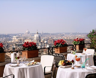 #21Hotel Hassler (91.1)  Rome, Italy