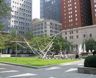 Mellon Square, Pittsburgh, Pennsylvania