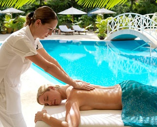 Free Massage and Champagne, Royal Hideaway Playacar, Mexico