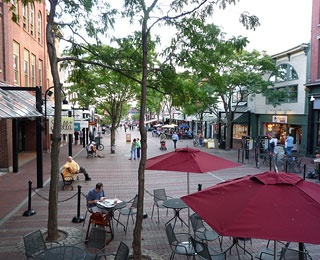 Church Street Marketplace, Burlington, VT