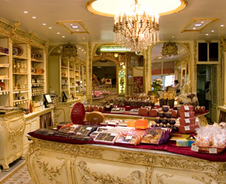Elegant Chocolate Shops