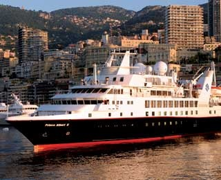 Silversea expeditions, Prince Albert II