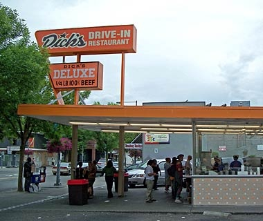 Seattle: Dick's Drive-In Restaurant