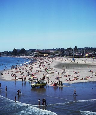 Santa Cruz, CA: The Beach Boardwalk