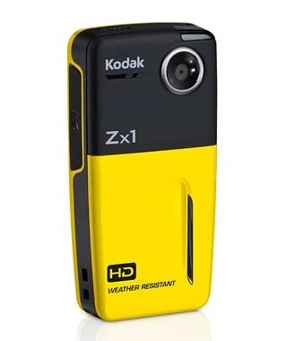 Kodak Zx1 Pocket Video Camera