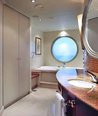 The Crystal Penthouse Suite on the Crystal Serenity