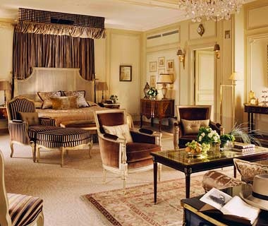 Royal Suite at the Hôtel Plaza Athénée, Paris
