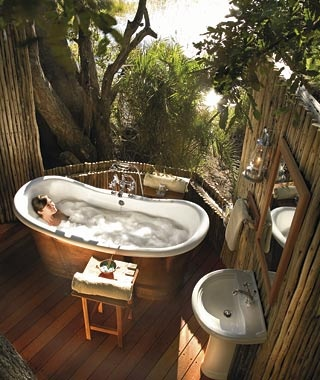 Private Suite at Eagle Island Camp, Okavango Delta, Botswana