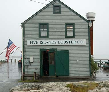 Five Islands Lobster Co., Georgetown