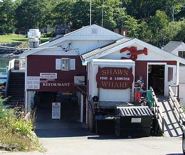 Shaw's Fish & Lobster Wharf Restaurant, New Harbor