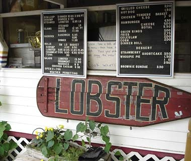 Estes Lobster House, Harpswell Neck