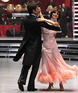Lisa Rinna: Waltz in Munich