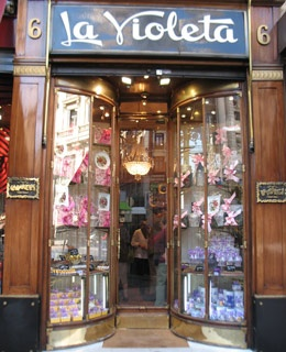 Madrid: Violet Candies