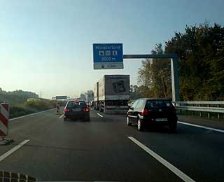 Stopping On the Autobahn Germany