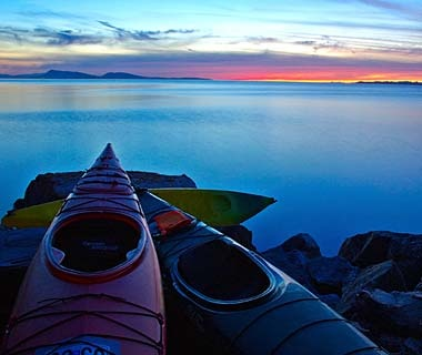 Kayaking the San Juan Islands, Washington