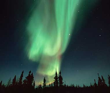 See the Northern Lights, Yukon