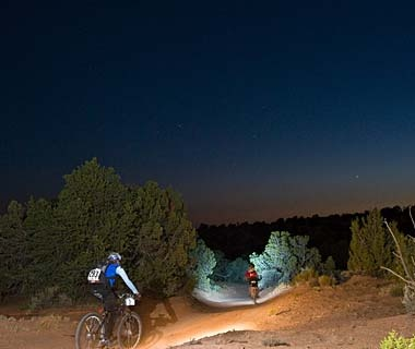 Go All-Night Mountain Biking, Utah