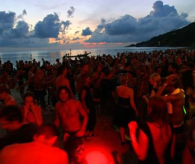 Attend a Full Moon Party, Thailand