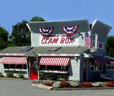 Seafood Shack: Clam Box, Ipswich, Massachusetts