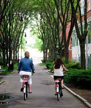 Hotel Bike Rental: Boston
