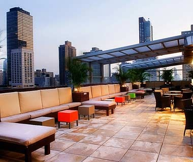 The Hottest Hotel Rooftop Bars Travel Leisure