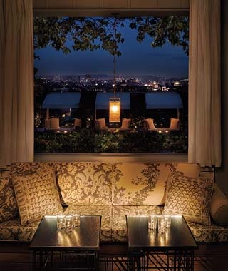 Los Angeles: Skybar at the Mondrian West Hollywood