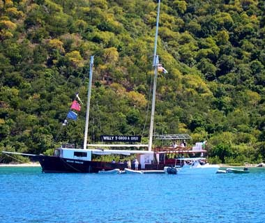 The William Thornton Floating Bar & Restaurant, British Virgin Islands