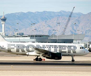 Best Airlines for Luggage Handling: #3 Frontier Airlines
