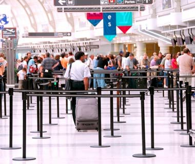 Avoid long lines at economy-class check-in.