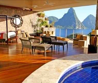 #3Jade Mountain                     St. Lucia