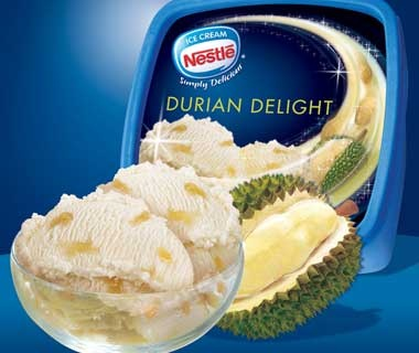 Durian Ice Cream: Philippines