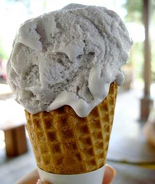 Lavender Ice Cream, France