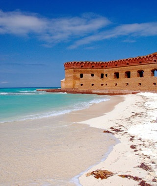 Garden Key Campground at Dry Tortugas National Park in Florida