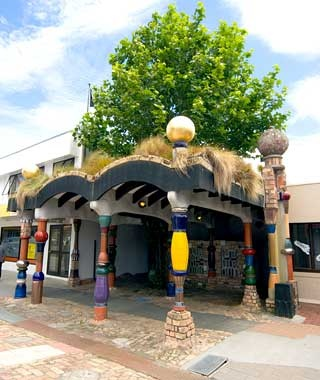 Hundertwasser Public Toilets, New Zealand