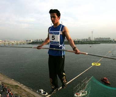 The Hangang High Wire World Championships, Seoul