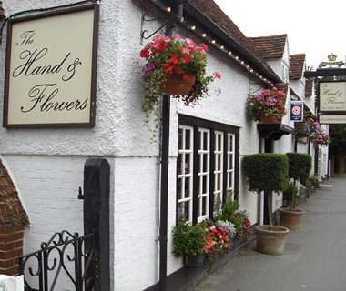 The Hand & Flowers, Marlow, Buckinghamshire