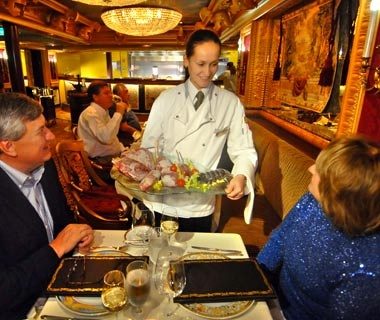 Carnival Cruise Lines: Best Steak Houses
