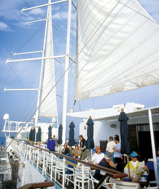 Windstar Cruises: Best Alfresco Breakfast