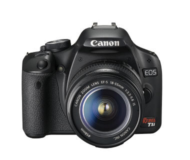Semi-Pro + Professional Level Camera: Canon Eos Rebel T1I, $799